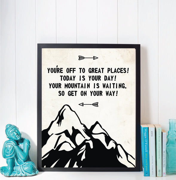 Print or Canvas, You Are Off To Great Places