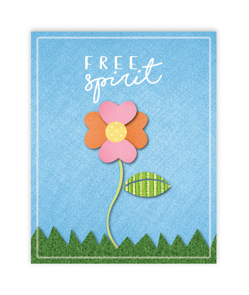 Print or Canvas, Free Spirit Flower