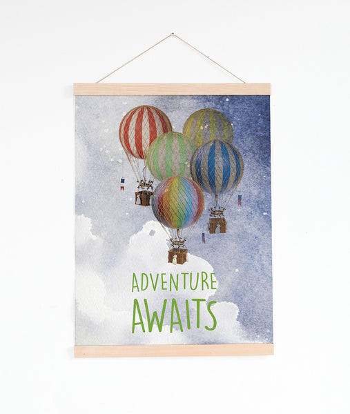 Adventure Awaits - Hot Air Balloons