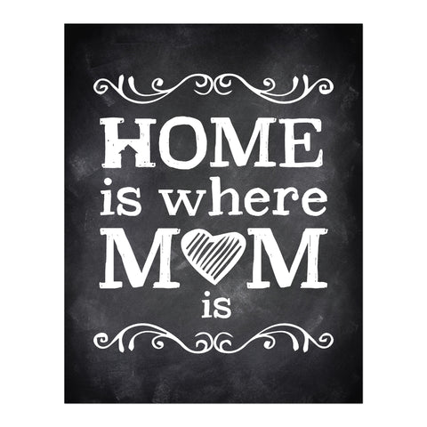 Home is where Mom Is, Print or Canvas