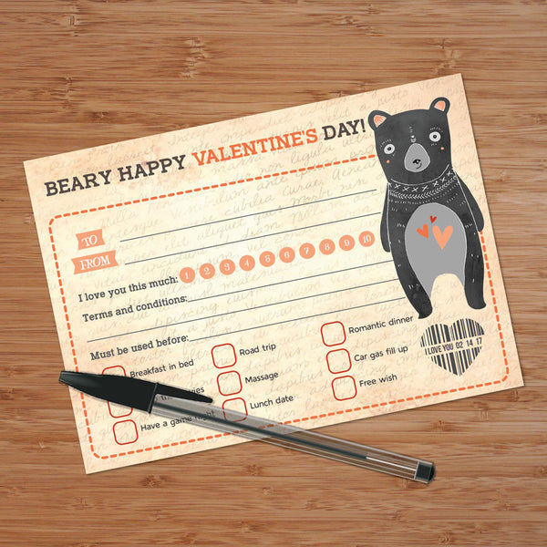 Valentines Day Card, I love you card Happy Valentines Day, Interactive Card
