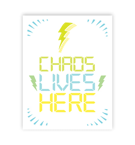Chaos Lives Here, Digital Text