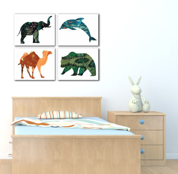 Animal Habitat Nursery Kid's Room decor