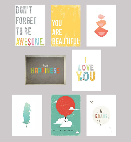 Be Inspired Wall Cards