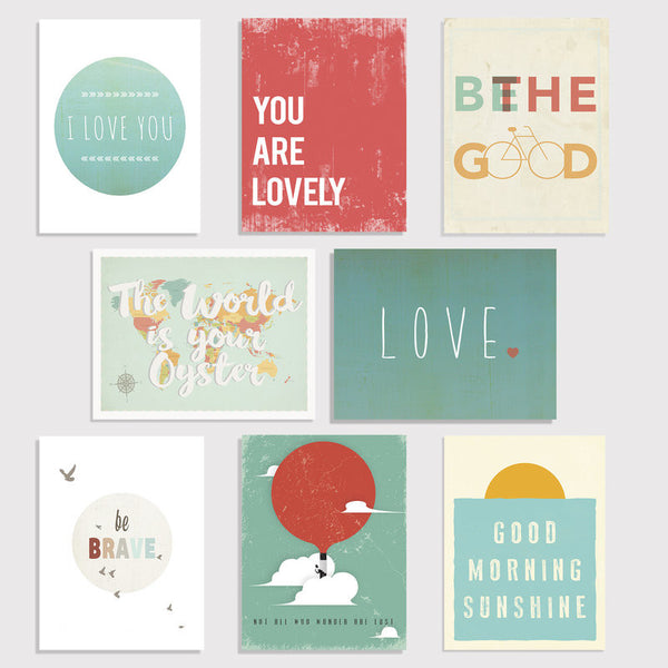 Little Citizens Wall Art Mini Print Collection