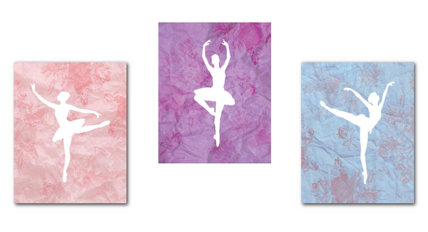 Tiny Ballerina Dancer Print Collection