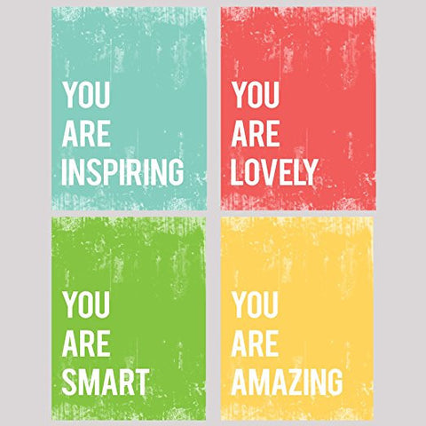 You Are Collection, Set of Four 11x14 Wall Art Prints
