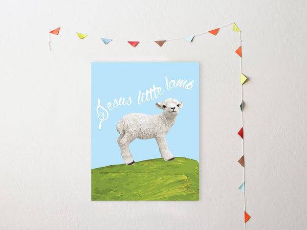 Print or Canvas, Lamb