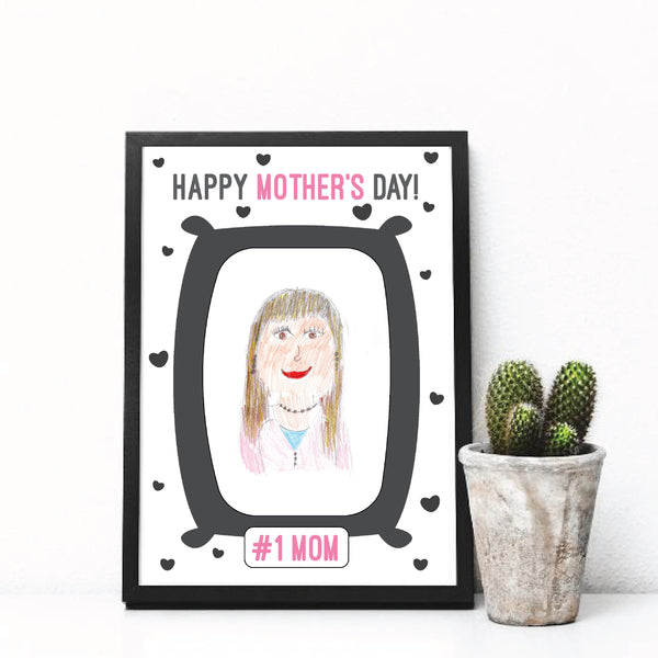 World's Best Mom!, Happy Mother's Day, Mother's day gift.