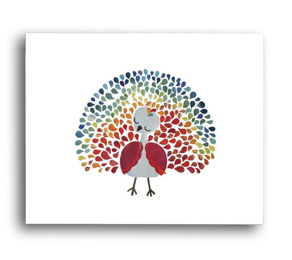 Peacock Print Digital Download Printable