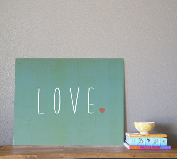 Love Wall Art Print