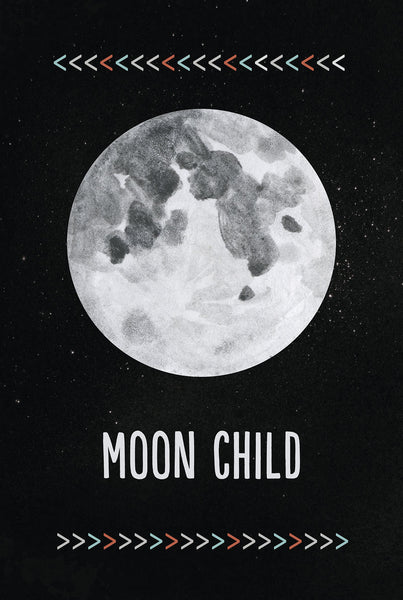 Moon Child Home Decor Wall Art Print
