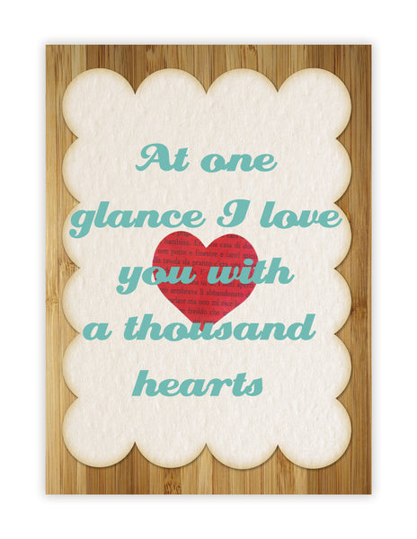 A Thousand Hearts, Print or Canvas