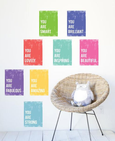You Are Print Collection - Set of Eight 8 x 10 or 11 x 14 Prints