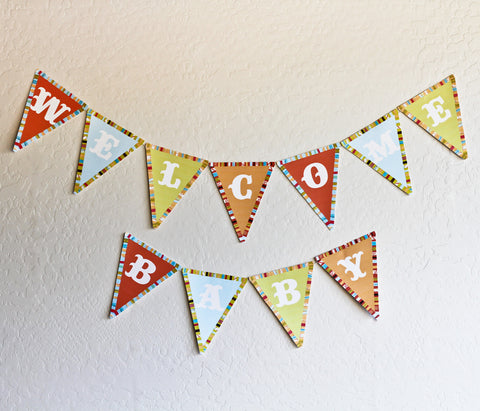 Welcome Baby PDF Banner