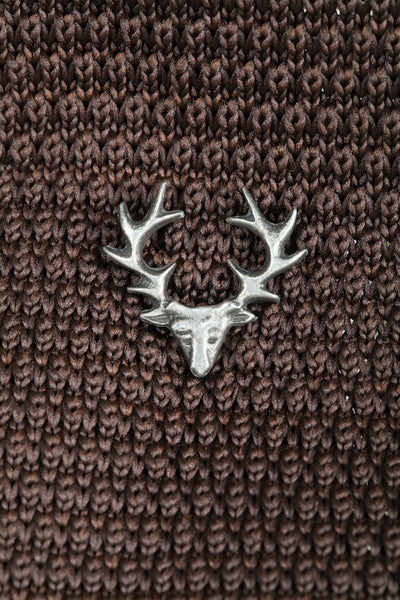 Pewter Lapel Pin / Tie Pin - Stag