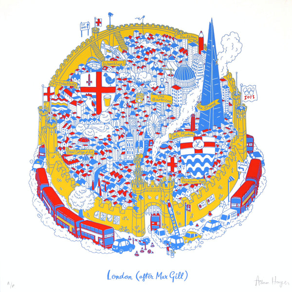 London Map (after Max Gill)