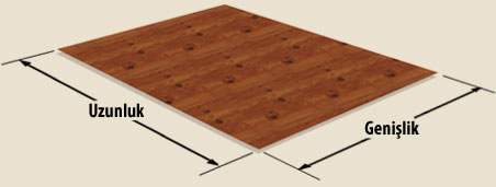 Carpet dimensions