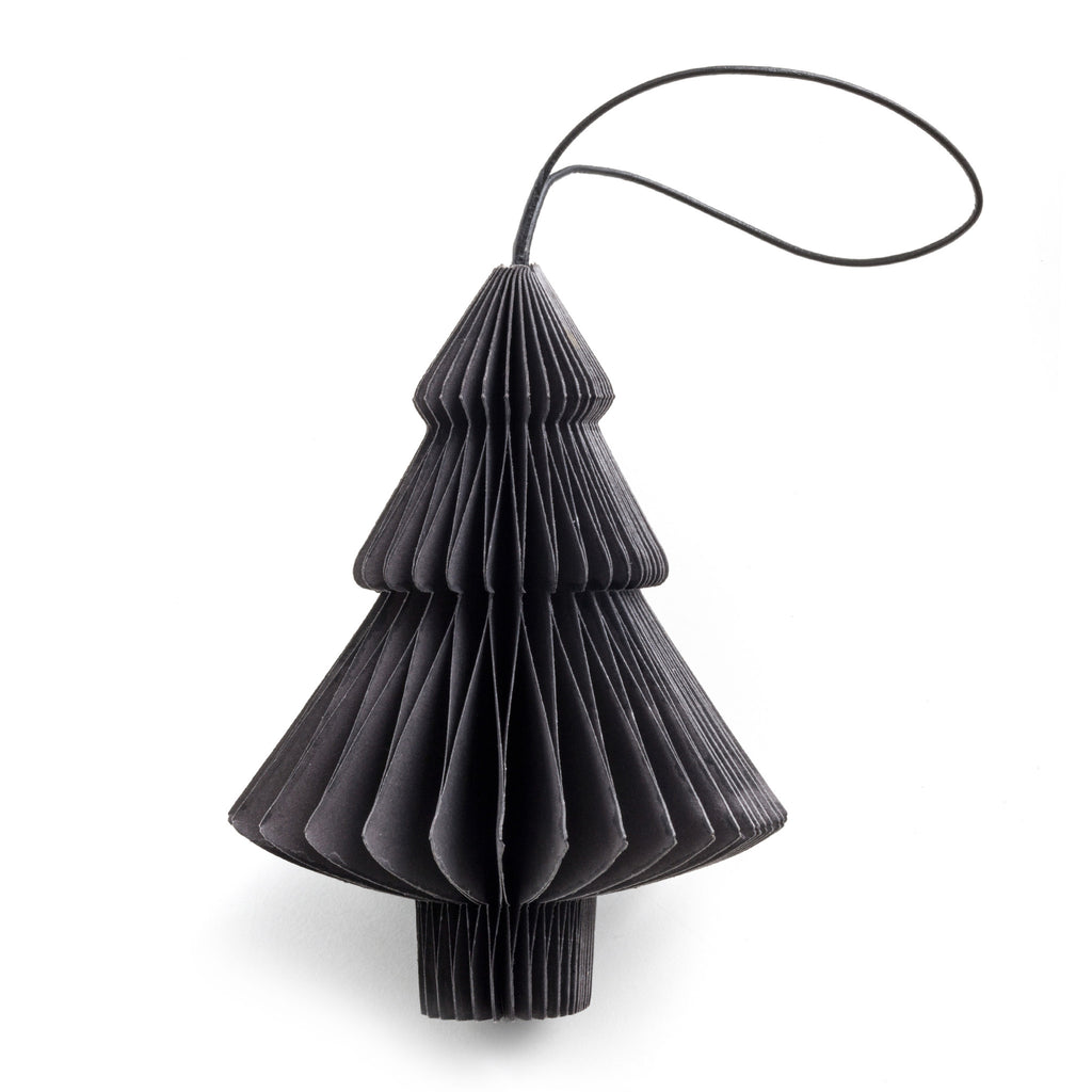smoke paper tree christmas ornament