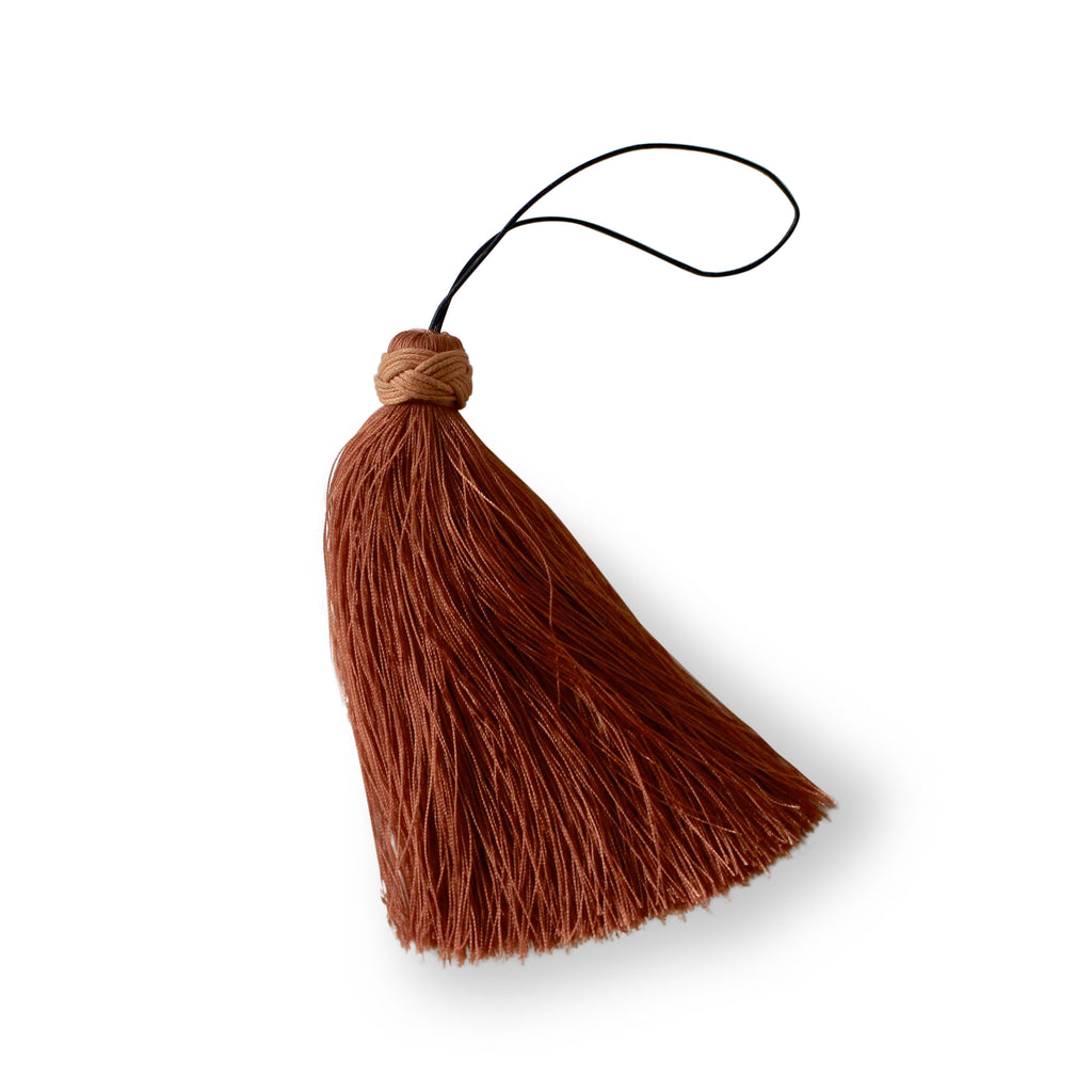 tassel, copper