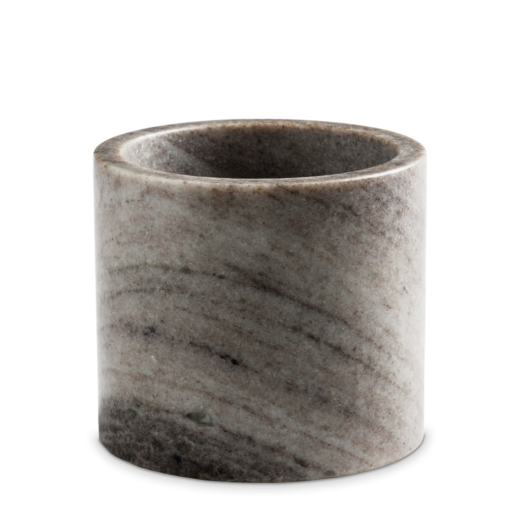 large brown marble candle holder nordstjerne