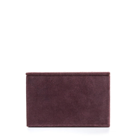 Nordstjerne suede box, aubergine medium