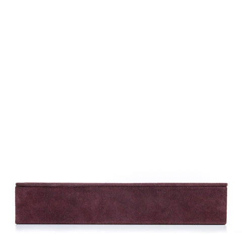 notabilia box rectangular, aubergine