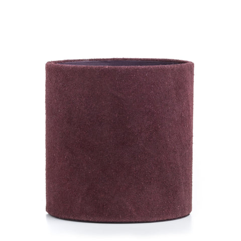 Nordstjerne suede pencil holder aubergine
