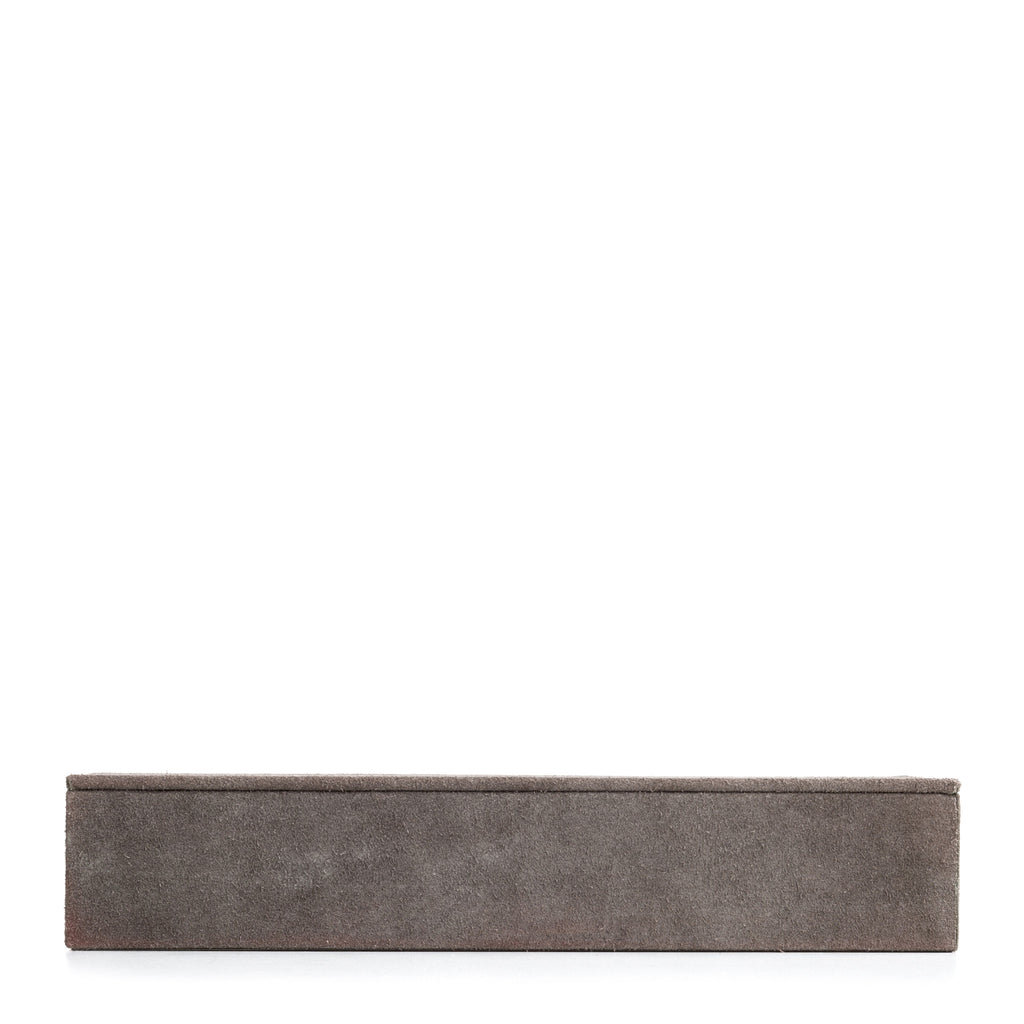 Nordstjerne grey suede box, rectangular