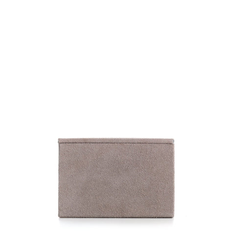 Nordstjerne small suede box, nude
