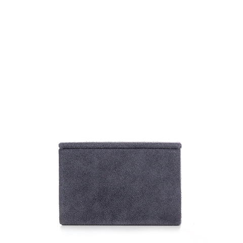 Nordstjerne small suede box, stone grey