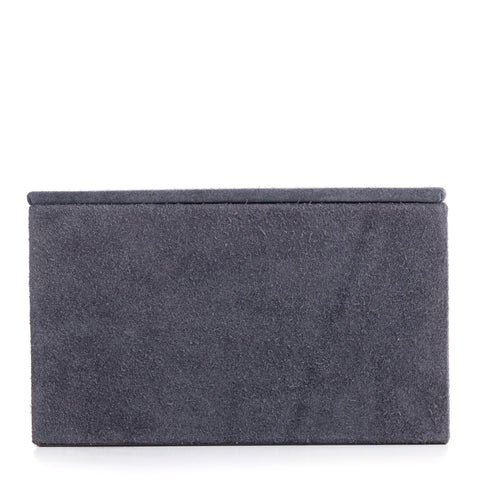 Nordstjerne large suede box, stone grey