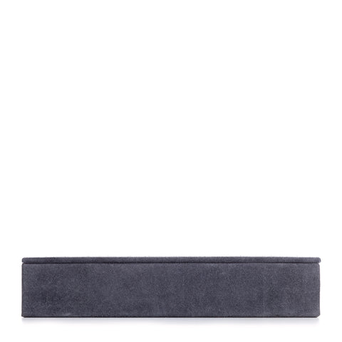 Nordstjerne rectangular suede box, stone grey