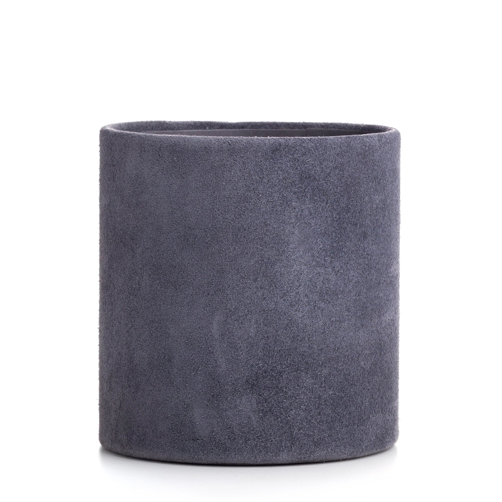 Nordstjerne suede pencil holder, stone grey
