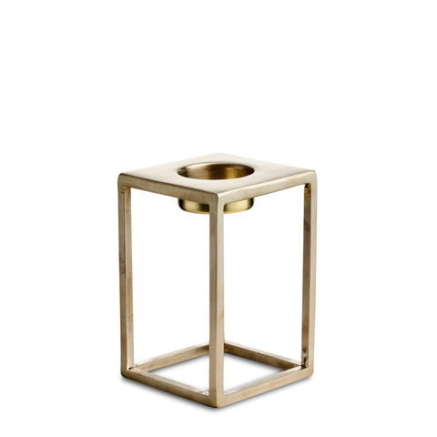nordstjerne medium matt brass t-light holder