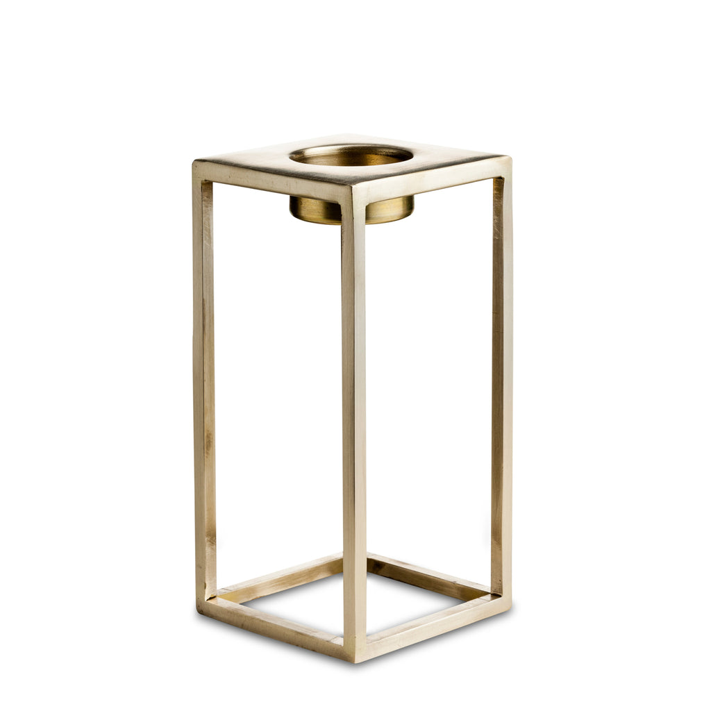 nordstjerne large brass t-light holder
