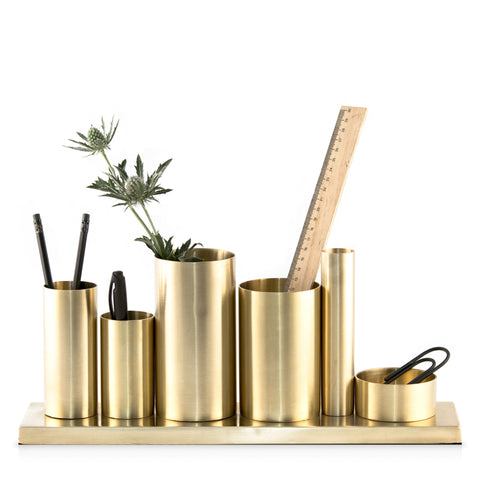 nordstjerne genuine organizer brushed brass