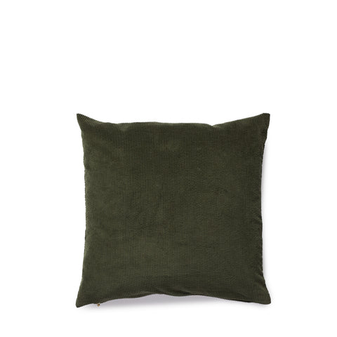 Corduroy cushion green tea Nordstjerne