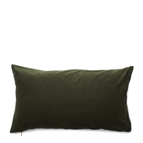 corduroy cushion, green tea
