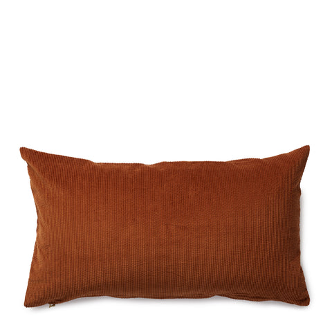 corduroy cushion, caramel