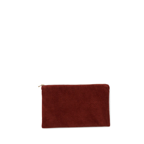corduroy clutch, rust