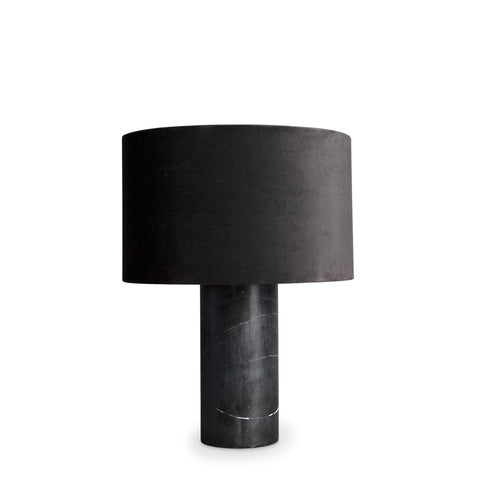 statement lamp, black