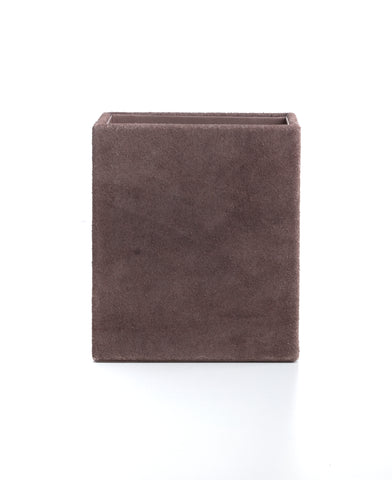 Nordstjerne suede pencil holder square, pale rosa