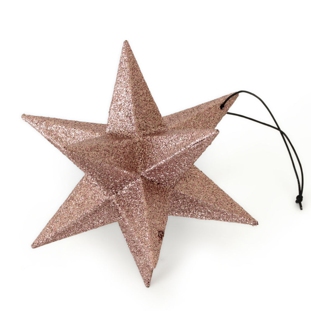 Polygon mega star, rose gold