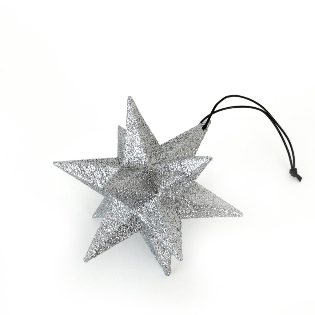 Polygon star, silver