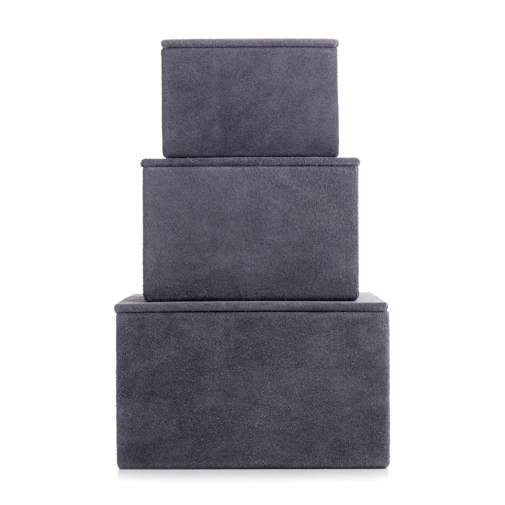notabilia box small, stone grey