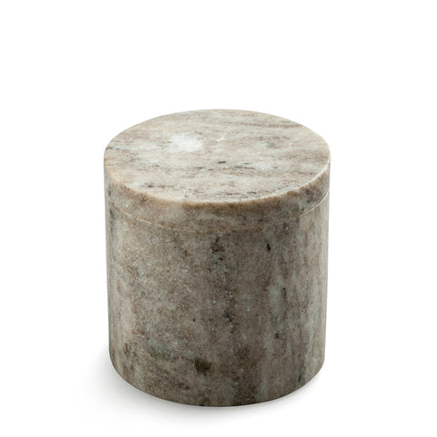 marblelous canister small, brown