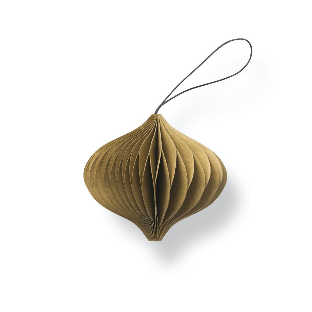 Nordstjerne Sustain Folded Ornament Onion, Camel