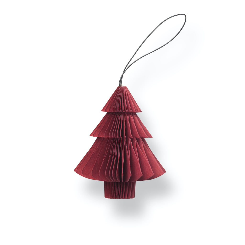 Nordstjerne Sustain Folded Ornament Tree, Red