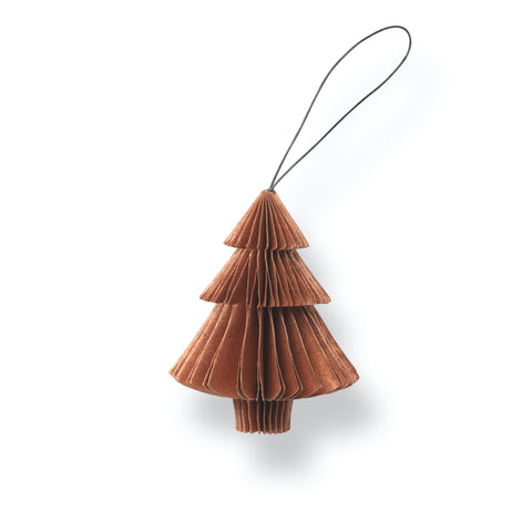 Nordstjerne Sustain Folded Ornament Tree, Copper